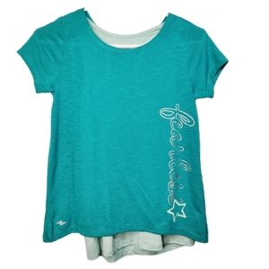 Athletic Works Dri-More Layered Fearless Top